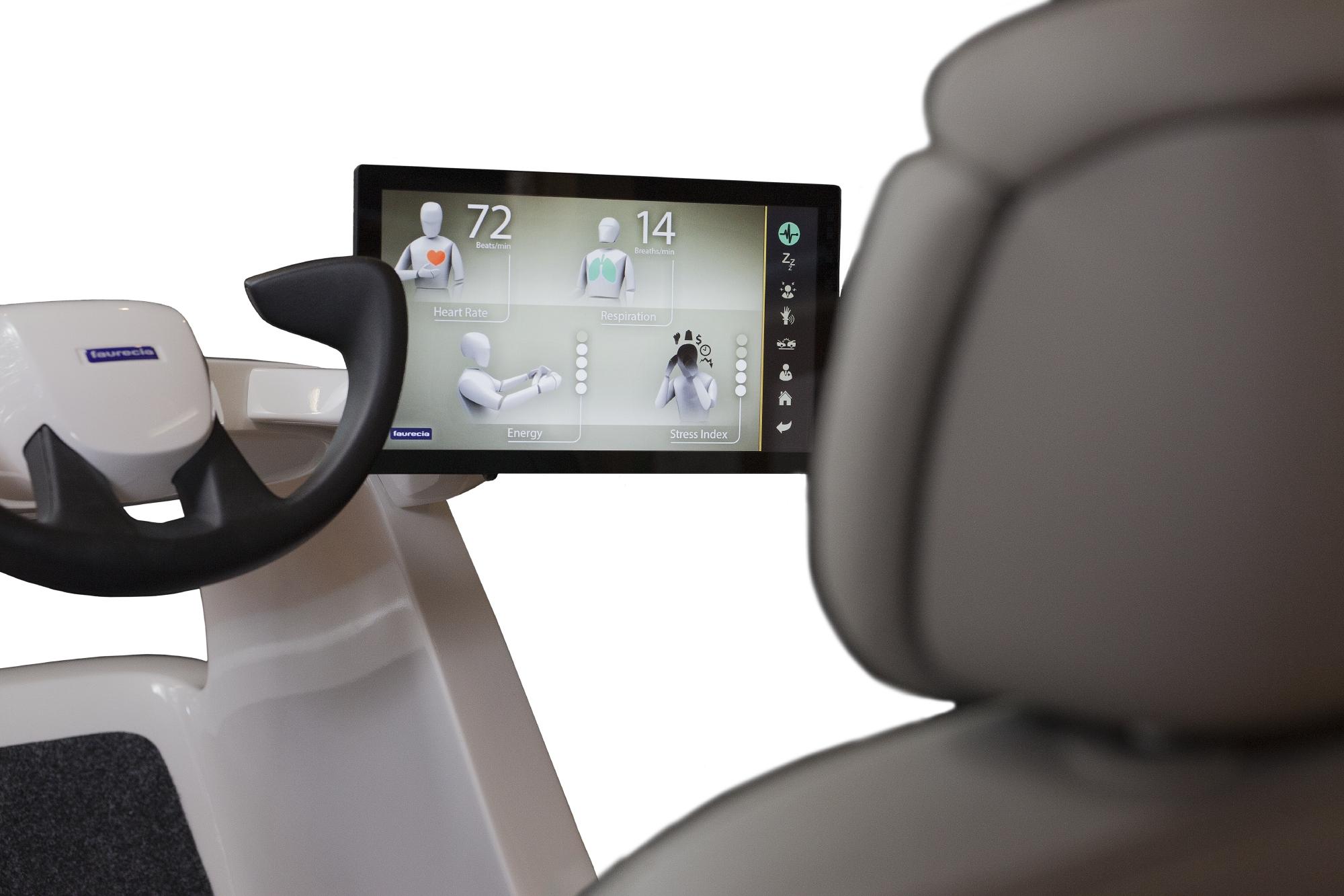 Faurecia-Cockpit-Studie