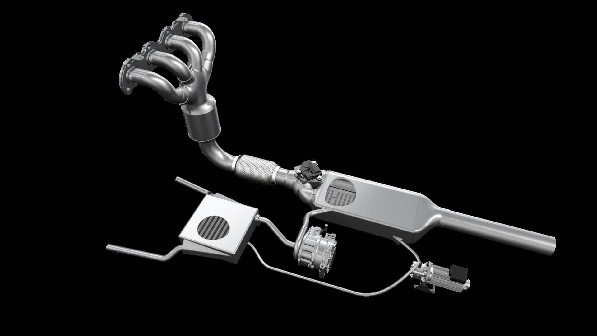 Das Faurecia EHPG-System