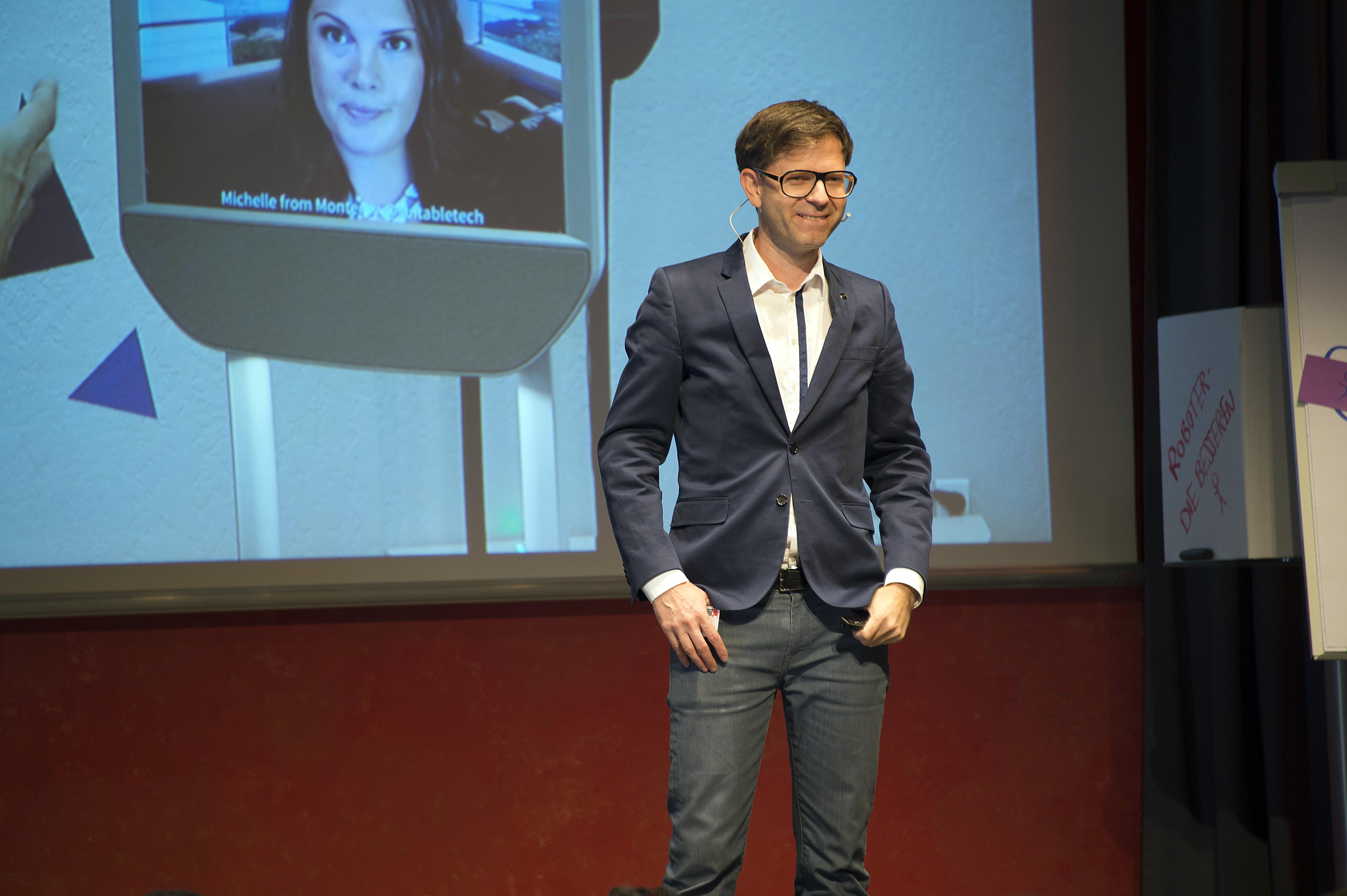 Mathias Haas bei seinem Vortrag