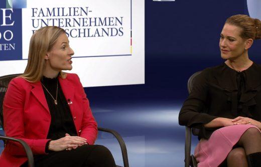 Marie-Christine Ostermann und Christine Walker