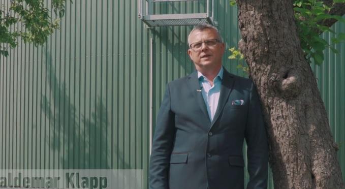 Waldemar Klapp von 3R Systems hat eine Idee, die eines de rgrößten Probleme der modernen Landwirtschaft lösen helfen könnte: Bio-Müll.